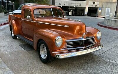 Hudson 58 Commercial 6 1946